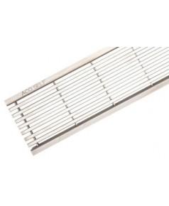 10323 Решетка из нержавеющей стали, продольный прут