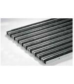 01210 Решетка алюминиевая с войлоком (антрацит)