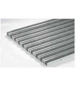 02180 Решетка алюминиевая с войлоком (серый)