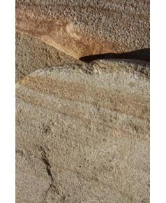 Песчаник желтый с разводами